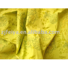 Burn out voile fabric cvc